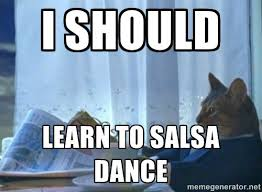 Salsa Dancing Meme - 5 of the best things about salsa on the square