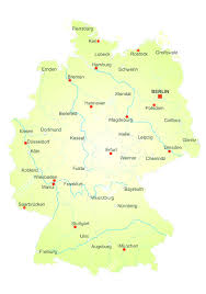 Ulm Germany Map by Maps Of Germany For Alluring Germany Map With States And Cities