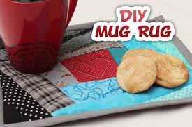Quilted Rugs Quilted Mug Rug How To Whitney Sews Youtube