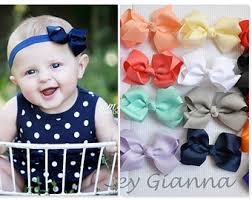 baby bow boutique baby bow headband etsy
