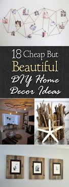 18 cheap but beautiful diy home decor ideas