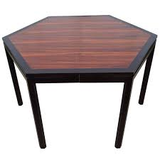 hexagon shaped kitchen table dunbar furniture dining room tables 59 for sale at 1stdibs