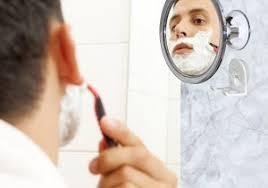 fogless shower mirror for shaving no fog chrome bathroom mirror