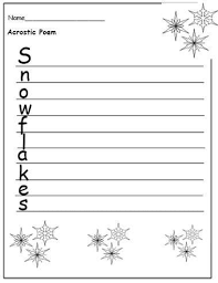 winter themed writing paper template tensile test experiment