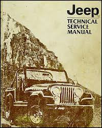 jeep repair manual 1982 jeep repair shop manual original all models