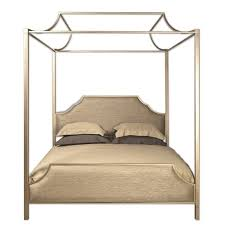 Upholstered Canopy Bed Westwood Gold Upholstered Canopy Bed