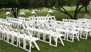 rental folding chairs white resin folding chair luxe event rental