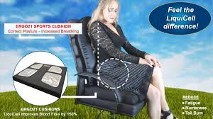 Seat Cushion For Desk Chair Seat Cushions For Arthritis Hip Pain And Arthritis Sufferers Ergo21
