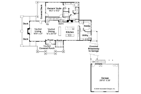 House Plans With Guest House by Craftsman House Plans Meriweather 30 502 Associated Designs