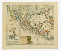 Map Of New Spain by A Famous Cartographic Blunder The Island Of California Swann