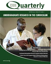 how to write a research paper on a person publications curquarterly council on undergraduate research cover fall 2016