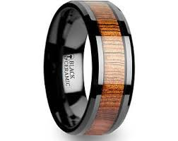 black mens wedding ring mens wedding ring mens ring carbon fiber ring mens black
