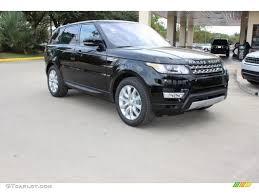 land rover lr4 black interior 2016 santorini black metallic land rover range rover sport hse