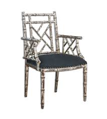 Silver Accent Chair Uttermost 23635 Macawi Silver Accent Chair