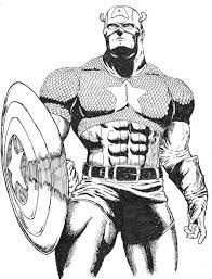 comic book coloring pages free printable captain america coloring pages for kids