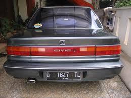 mobil bekas honda civic jual mobil bekas honda grand civic 1991 sh4gm mobilbekas com