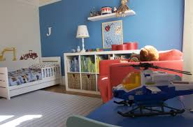 Blue And Red Striped Rug Kids Room Blue Children Bedroom Ideas With Blue Stripes Wool Rug