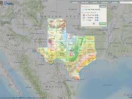 map tx usgs geology web map viewer