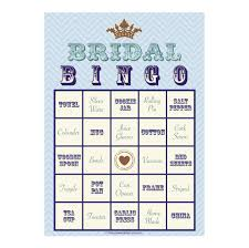 bridal shower gift bingo items similar to bridal shower bingo pre printed gift ideas 12