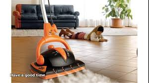 Steam Mopping Laminate Floors Hardwood Floor Steam Cleaner Youtube