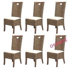 chaise en rotin but salle a manger en rotin 1 lot chaises en rotin meubles en rotin
