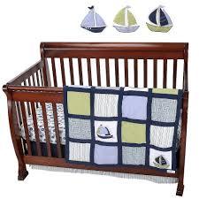 amazon com nautica kids zachary 7 piece crib bedding set