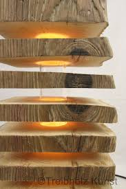 Wohnzimmerlampe Holz Einmalige Treibholz Lampen Www Treibholz Bodensee De