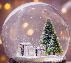 the ultimate snow globe featuring snow and a micro