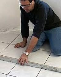 installing hardwood floors tile