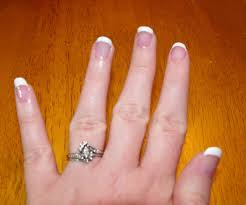 how to wrap your nails and do a french manicure 5 steps