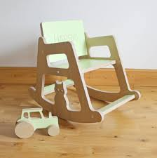 Rocking Chair Philippines Personalised Wooden Children U0027s Rocking Chair By Kids Creative