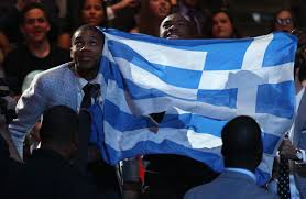 Golden Dawn Flag Giannis Antetokounmpo U0027s Incredible Journey From Immigrant Struggle