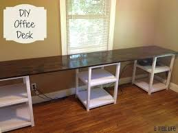 Office Desk With File Cabinet Diy Filing Cabinet Desk Diy Home Decor Home Office Painted