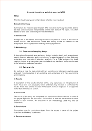 field report template 5 technical report templatereport template document report template