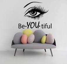 wall decals woman beautiful wording vinyl sticker decal beauty wall decals woman beautiful wording vinyl sticker decal beauty salon decor kg708 fashion