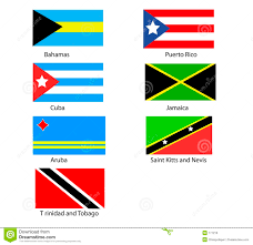 Cuba And Puerto Rico Flag Caribbean Flags Stock Illustration Image Of Rico Tobago 171216