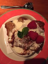 Bread Pudding with Bourbon Sauce Picture of Copper Canyon Grill