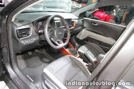 kia stonic interior at iaa 2017 indian autos blog