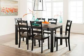 signature design by ashley dining room table set 7 cn d338 425