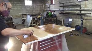 Bench Metal Work Custom Metal Work Bench Shop Storage Part 1 Youtube