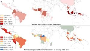 Cuba On A World Map by Plos One The Impacts Of Oil Palm On Recent Deforestation And