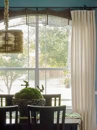 How To Hang Curtains Around Bed by Window Treatment Ideas Hgtv