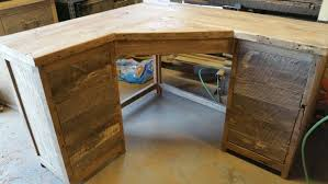 rustic wood desk rustic wood office desk and file storage rustic