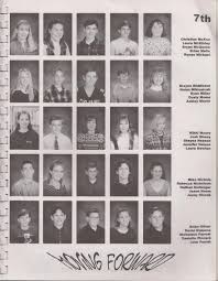 middle school yearbook pictures basement editorial middle school yearbooks josh mosey writer