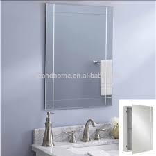 35 recessed mirror cabinet bathroom illusion recessed bathroom