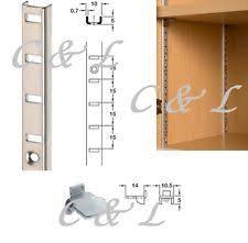 Adjustable Bookcase Strips Shelf Clips Business Office U0026 Industrial Ebay