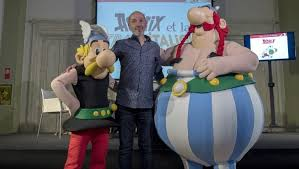 italy beckons gaul comic heros asterix obelix times