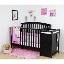 Baby Cribs With Changing Tables Black Baby Crib Sets Simply Baby Furniture Black Nursery