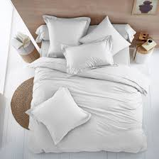 Organic Cotton Duvet Cover Colors Organic Cotton Flat Sheet Scenario La Redoute