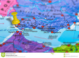 Spain Map Cadiz Spain Map Stock Photo Image Of Geopolitical Concept 82629316